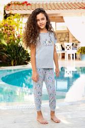 Berrak - Berrak 934 Kız Çocuk Pijama Takımı