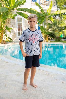 Berrak - Berrak 937 Erkek Çocuk Pijama Takımı