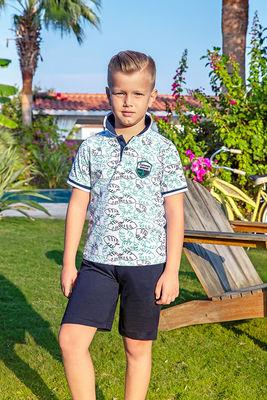 Berrak - Berrak 938 Erkek Çocuk Pijama Takımı