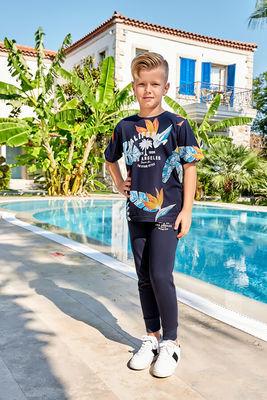 Berrak - Berrak 939 Erkek Çocuk Pijama Takımı