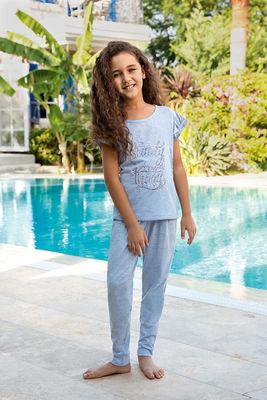 Berrak - Berrak 940 Kız Çocuk Pijama Takımı